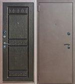 Входная металлическая дверь ТРОЯ аргентум